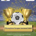 Champions League-toernooi komende zaterdag