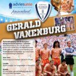 Gerald Vanenburg komt naar De Langeleegte!